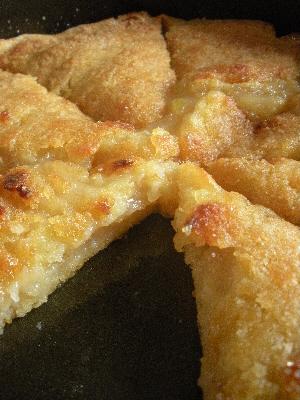 Potato Apple Tart