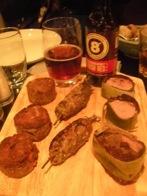 Sunburnt Irish Red from Eight Degrees Brewing at Inishfood