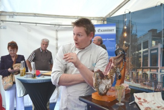 Cork Food Festival - Kevin at Electric