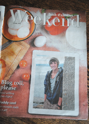 Bibliocook.com - Donal Skehan on Irish Examiner for digital food media feature