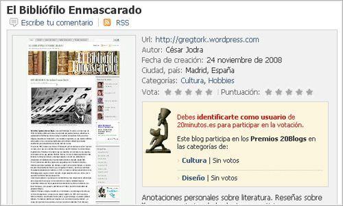 Ficha técnica de El Bibliófilo Enmascarado.