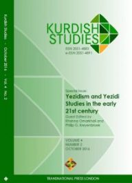 kurdish-studies-42-2016-yezidism-cover