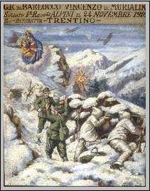 gli ex voto della prima guerra mondiale