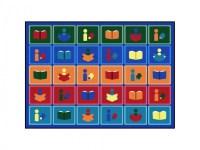 Joy Carpets Reading Train Reading Carpet - Biblio RPL Lte