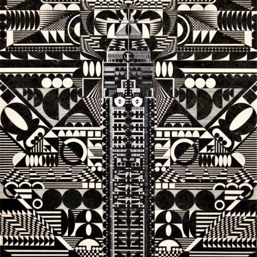 G.Grasso, Grattacielo - 2010 33x48 cm