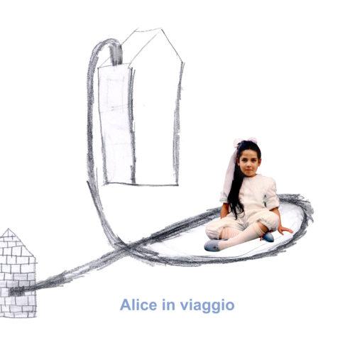 A.Gandini, Alice in viaggio -  2004 58x40 cm