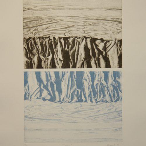 R.Cinquetti, Sipari - 1993 50x70 cm