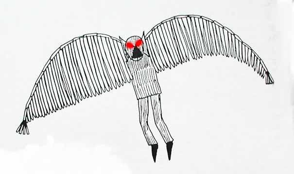 Mothman Amp The Thunderbird Separated At Birth A