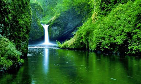 Water Fall Effect Wallpaper Pure Water The Quality Of The Water Determines The
