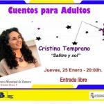 Cuentos para adultos con Cristina Temprano