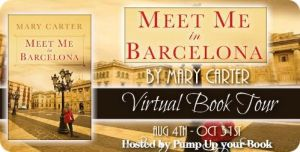Meet Me in Barcelona at Pump Up Your Book