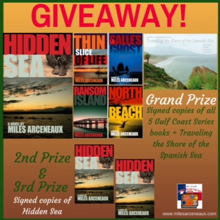 Spotlight: Hidden Sea by Miles Arceneaux – with Giveaway