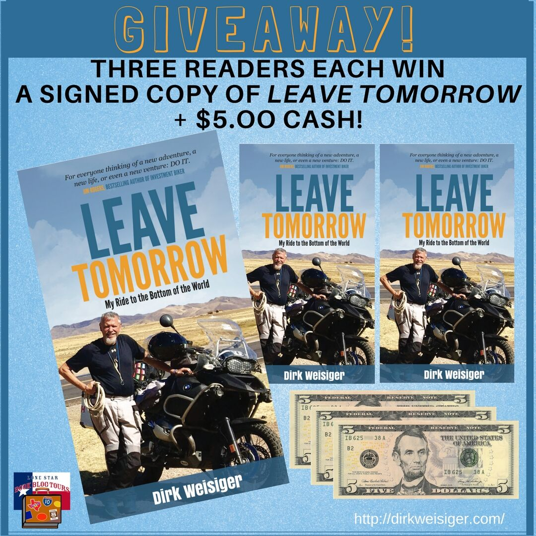 Review: Leave Tomorrow, by Dirk Weisiger – with Giveaway