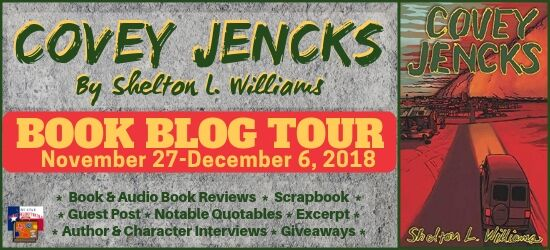 Spotlight on Covey Jenks, by Shelton L. Williams – With Excerpt