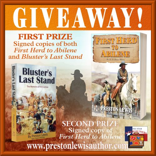 Review – First Herd to Abilene, by Preston Lewis – with Giveaway