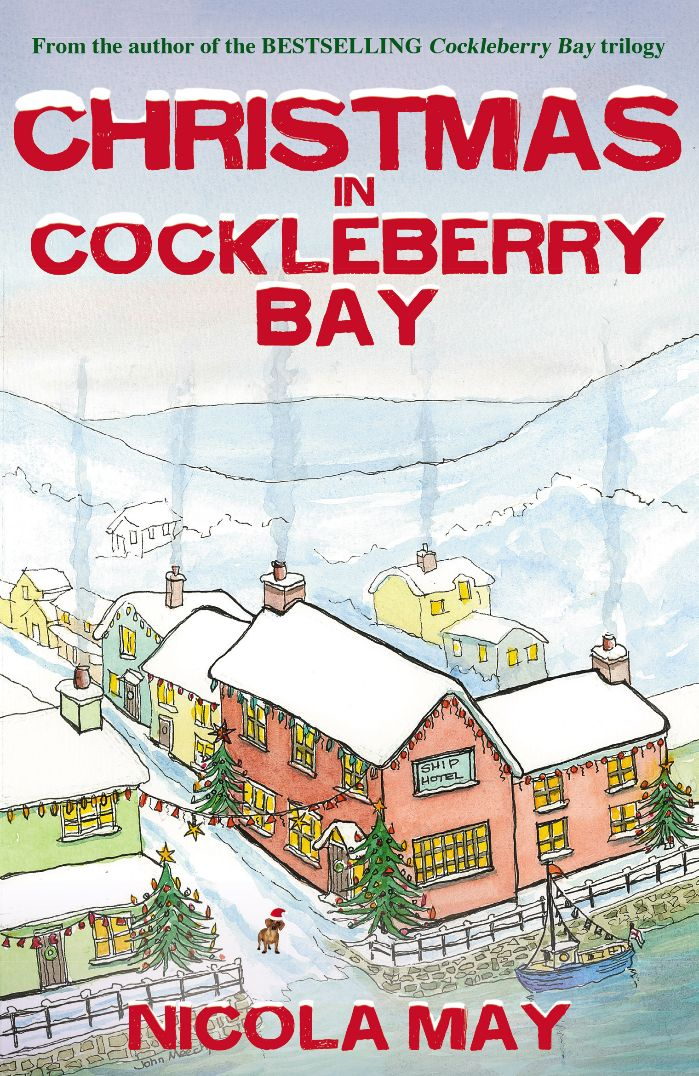 Cover Reveal: Christmas in Cockleberry Bay, by Nicola May