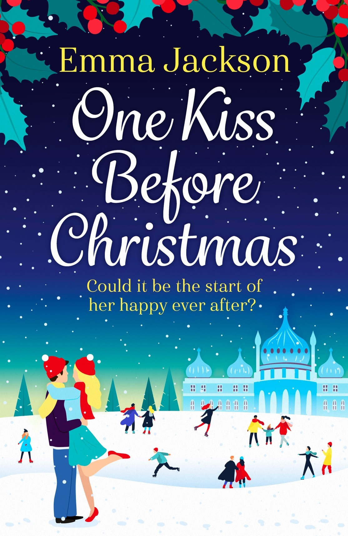 Cover Reveal: One Kiss Before Christmas by Emma Jackson