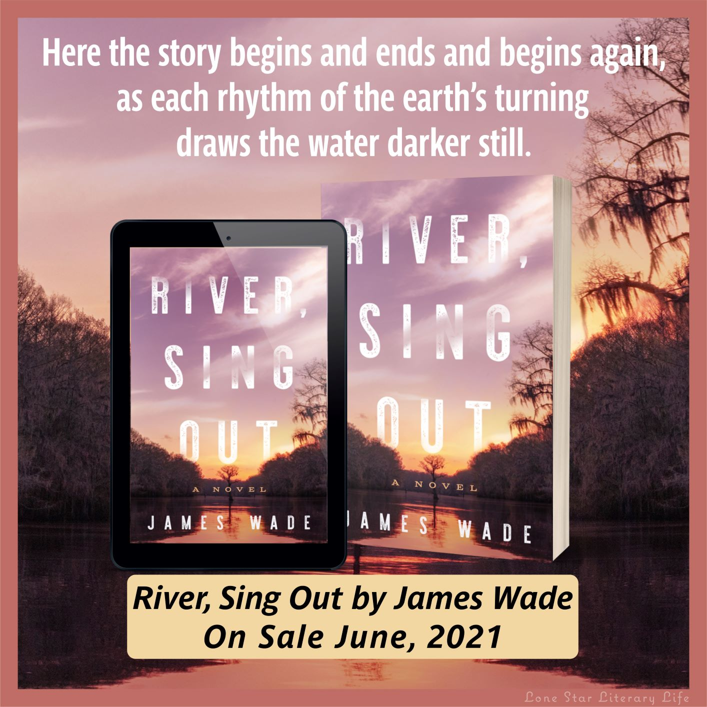 Cover Reveal: River, Sing Out, by James Wade