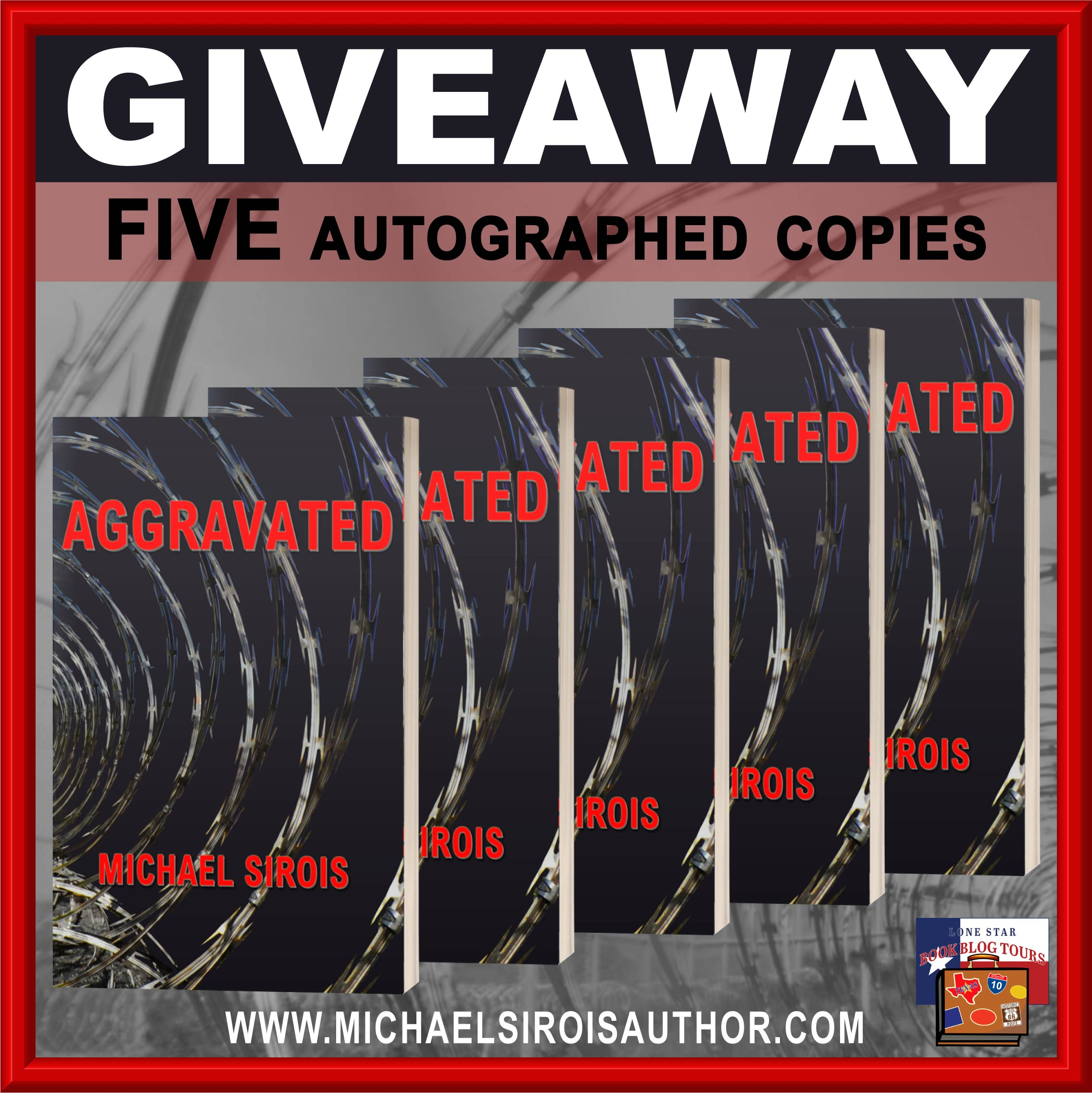 Spotlight: Aggravated, by Michael Sirois – with Giveaway