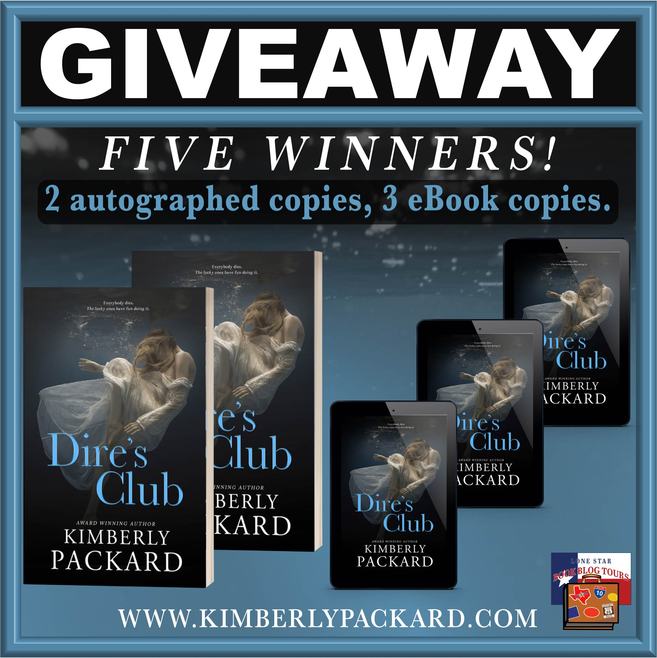 Review & Giveaway: Dire's Club by Kimberly Packard