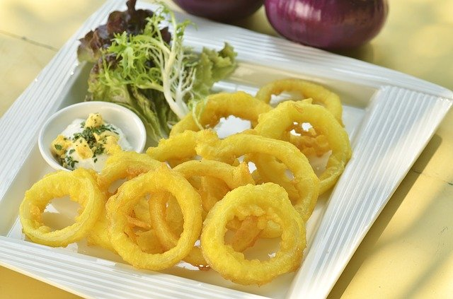 Resep camilan onion rings