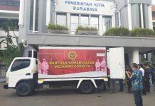 (Ilustrasi) Bantuan alat kesehatan dari BIN (Badan Intelijen Negara) saat tiba di Balai Kota Surabaya, Selasa (02/06/2020) /dok. Bicara Surabaya