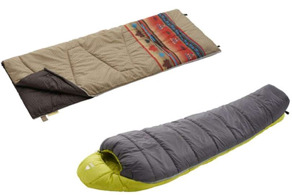 2 популярных спальных мешка