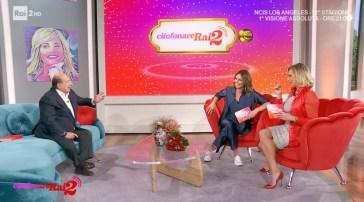 Giancarlo Magalli a Citofonare Rai2 svicola su Adriana Volpe