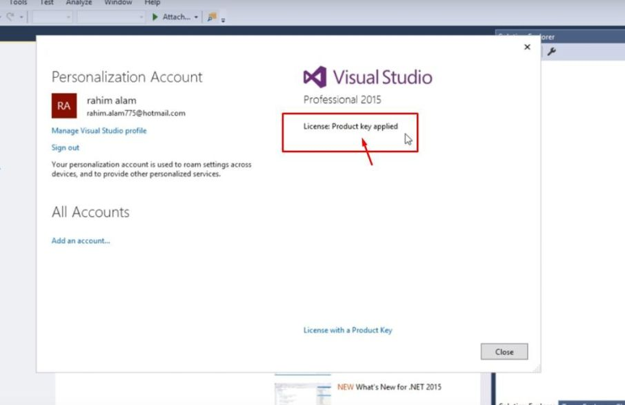 Microsoft Visual Studio 2015 With Latest Product Keys Full Version Free Download - BicFic