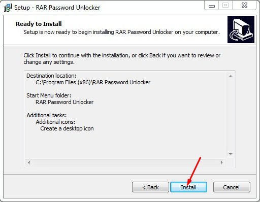 Crack RAR Password pic 11