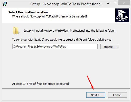 novicorp wintoflash license key Pic 1