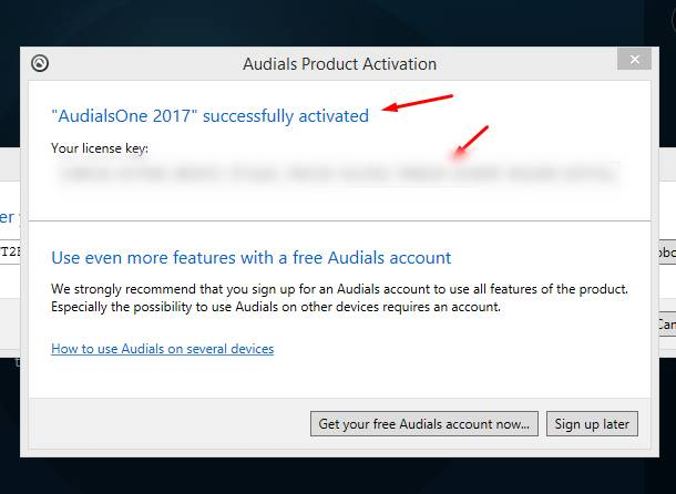 audials license key
