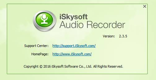 iskysoft audio recorder key pic 4