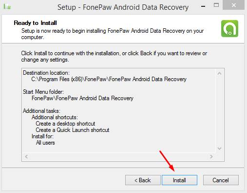 how to register fonepaw android data recovery free