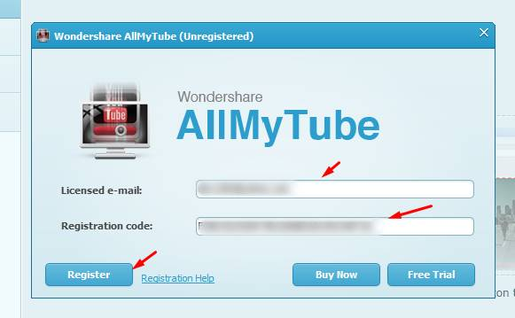 wondershare allmytube serial number pic 3