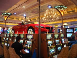 Las Vegas win a car