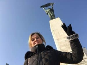 statue de la liberté budapest