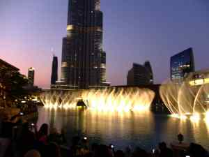 Burj Khalifa dubaï show