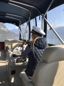 bateau lac de thoune