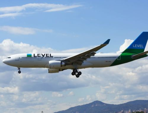 Aerolínea low cost Level