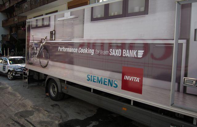 Saxo Bank-ova kuhinja na točkovima