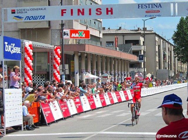 Tour de Serbie 2012 stage 2 Niš-Kragujevac 146km