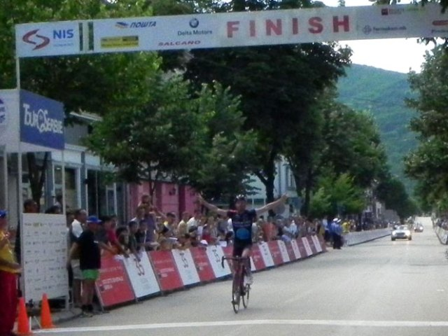 Tour de Serbie 2012 stage 3 Kragujevac-Bajina Bašta 173km