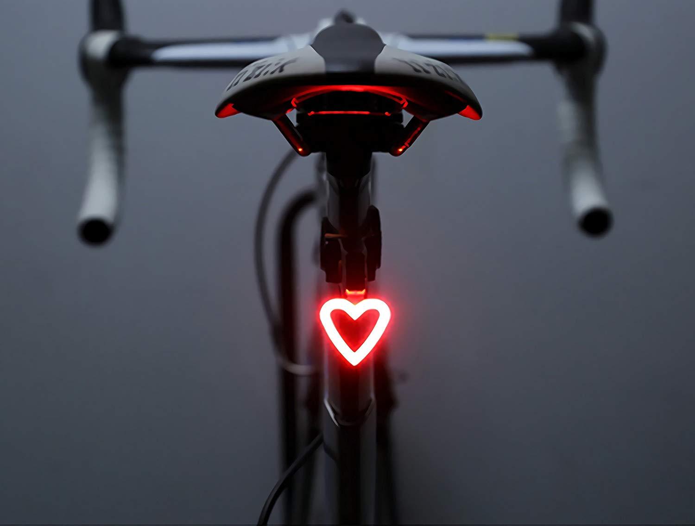 Freemaster le luci led per bici con il cuore  BiciTech