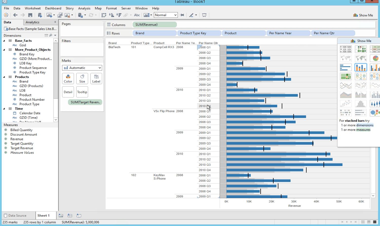 Extract Obiee Data Using Tableau Desktop