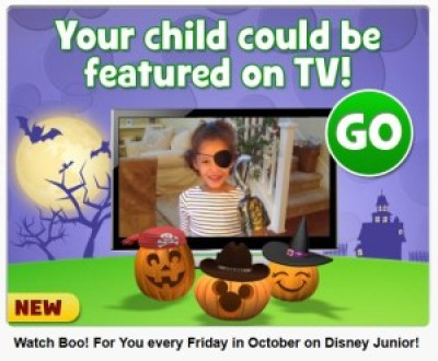 halloween disney junior video submissions for a chance to be on tv