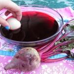 Dye Easter Eggs Naturally Using Vegetables