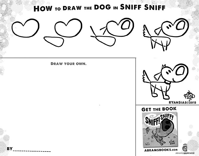 Sniff! Sniff! by Ryan Sias Children's Picture Book and