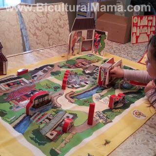 Teach Kids about Chinese Culture through World Village Playset