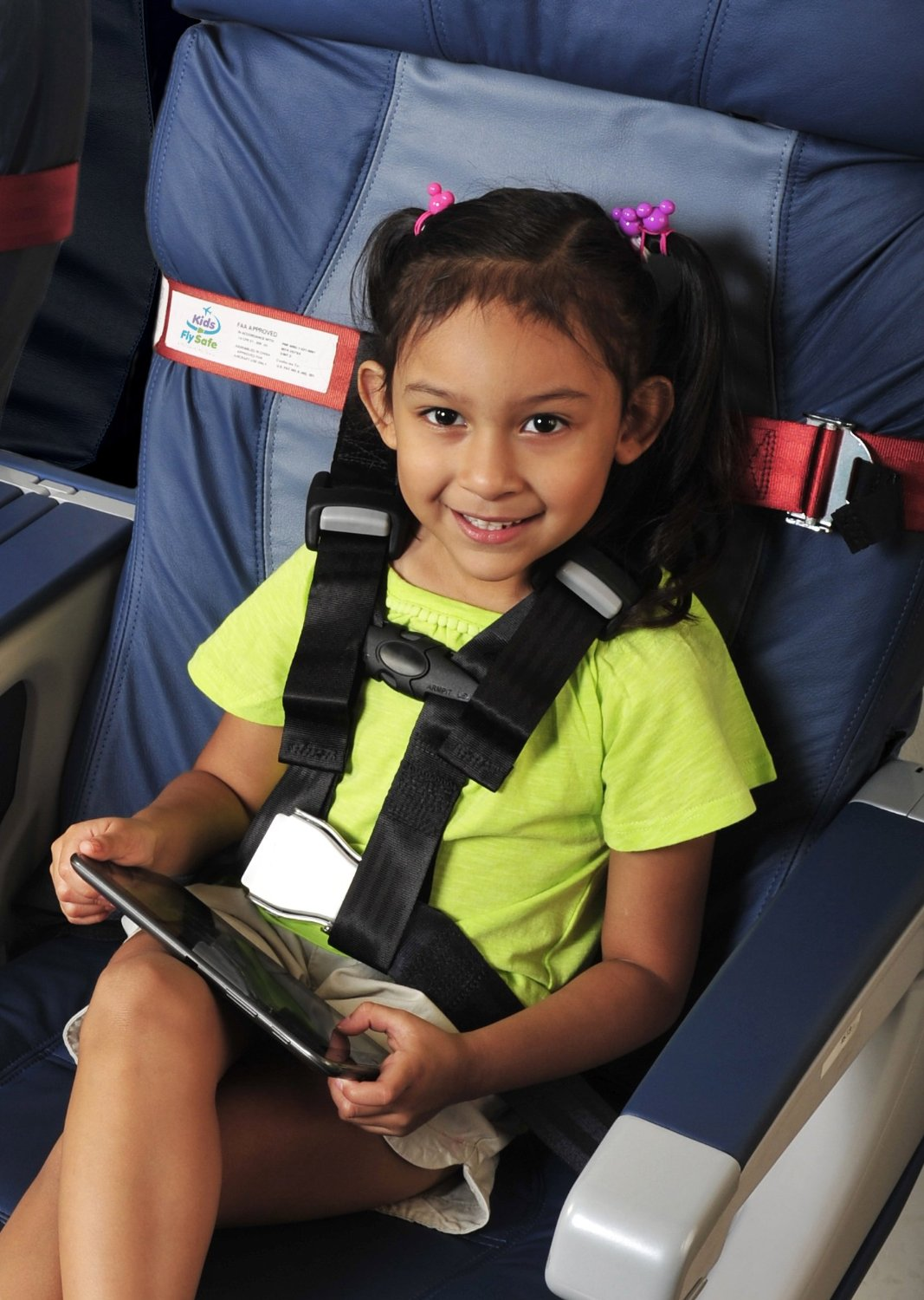 Kids Fly Safe CARES Airplane Safety Harness Provides